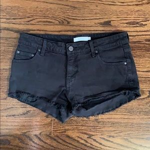 Black Talula Jean shorts